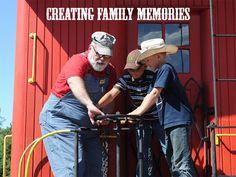 Creating Family Memories.