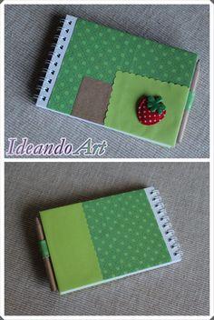 Libreta personalizada DIY by IdeandoArt