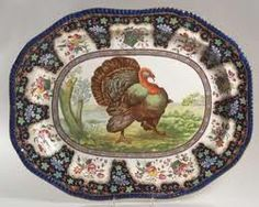 Spode Platter..gorgeous! I believe I need to start my fall Spode collection this year...