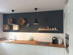 czarne płytki w kuchni - Szukaj w Google
