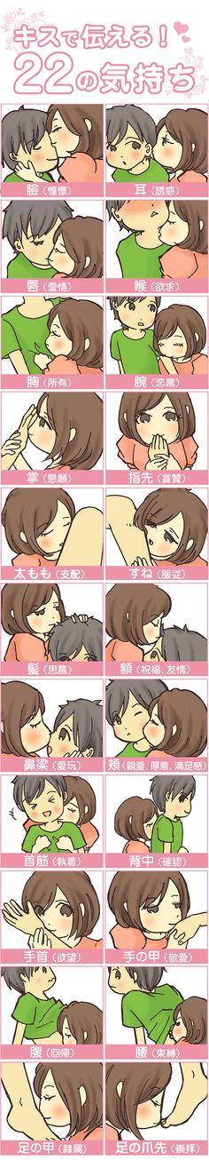キスする場所別!キスの意味22個 Anime Love Couple, How To Get, How To Plan, Satire, I Got This, Drawing Reference, Trivia, I Am Awesome, How To Memorize Things