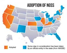 States that have adopted NGSS