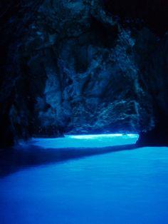 Die Blaue Grotte von Biševo // Bisevo ◆Kroatien – Wikipedia http://de.wikipedia.org/wiki/Kroatien #Croatia