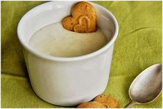 Obrázek z Recept - Domácí smetánek Muesli, Guacamole, Cooking Tips, Pudding, Homemade, Breakfast, Tableware, Food, Morning Coffee