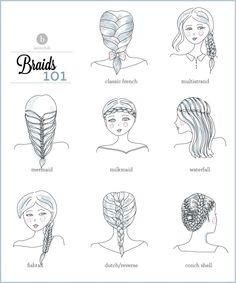 Always trying to do new braids.