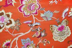 Mood Fabrics : New York Fashion Designer Discount Fabric   HC30026 Sunstone Floral Canvas