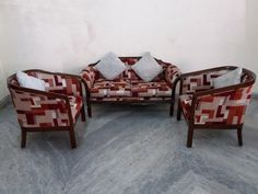 For Sale 4 Seater Sofa Set For More Information Please Visit http://usedfurnitures.in/product/4-seater-teak-wood-sofa-1783 or www.usedfurnitures.in