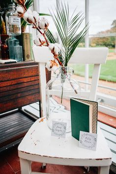 Botanical wedding ideas   Amy Lewin Photography   see more on: http://burnettsboards.com/2015/01/botanical-beauty-greenhouse-wedding-editorial/