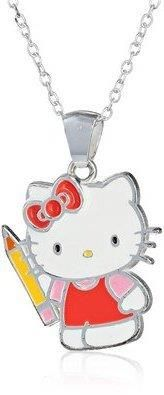 Hello Kitty Girls with Pencil Sterling Silver Pendant Necklace, 18quot;  https://in.kato.im/17ef88842e8f5bf0d45aa6dbeac470afdc516549e14e6c24e9d99807ac29064/B00J8ABGWO.html