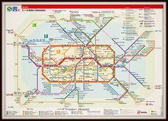 Berlin metro map