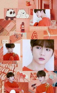 Discover recipes, home ideas, style inspiration and other ideas to try. K Pop, Meme Photo, Orange Wallpaper, Young Ones, Fanart, T Rex, Aesthetic Wallpapers, Cute Wallpapers, Boy Groups