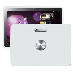 Soft Shell (Hvit) Samsung Galaxy Tab 10.1 P7100 Deksel