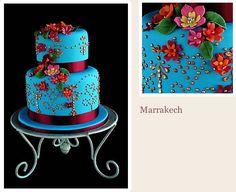 Marrakech by Roxanne Floquet Cakes