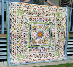 Esther's Quilt Blog: Patricia Stephens' Love Entwined