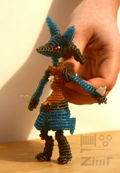 Lucario by ZimtBeadwork on DeviantArt