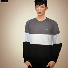 Image result for the sims 4 sweater men