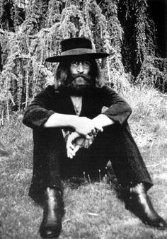 John Lennon (at The Beatles final photography session, Tittenhurst Park, 22 August 1969)