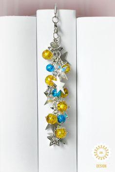 Metall - Sternentaler ♥ Märchen ● Lesezeichen - ein Designerstück von SchmettAlinchen bei DaWanda