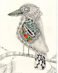 Image result for australian children's drawing kookaburra