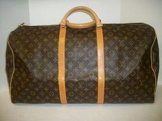 a43c917a70a2 Keeks Buy Sell Designer Handbags - Louis Vuitton Monogram Canvas Keepall 60  (2)