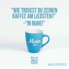 MOIN. Tasse #heimatmeer