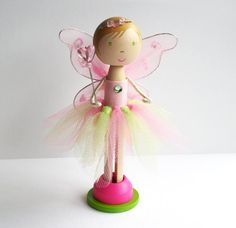 fairy wings and tulle