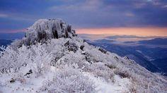 광주 무등산 Half Dome, Mountains, Nature, Korean, Travel, Winter, Winter Time, Naturaleza, Viajes