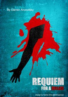 Requiem for a Dream Requiem For A Dream, Darren Aronofsky, Forrest Gump, Kill Bill, Alternative Movie Posters, Minimalist Poster, Random Things, Movie Tv, Sketch