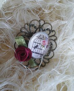 Baroque ring 1 by TravelwearMiro on Etsy, $15.00