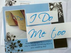 I Do and Me too shoe sticker for Bride and by WaterfallDesigns, $9.50    Looooove it!