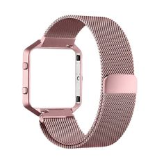 Fitbit Blaze Accessory Band,Small (5.5-6.7 in),Oitom Frame Housing+Milanese loop  | eBay