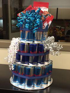 Red Bull cake #redbull #redbullcake