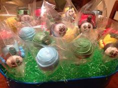 Thomas the Train Cake Pops!   La Hoot Bakery