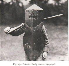 WWI armour