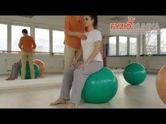 Správný sed na gymnastickém míči Flat Tummy, Excercise, Metabolism, Pilates, Gym Equipment, Victoria, Workout, How To Plan, Youtube