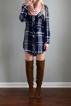 LOVE this shirt dress & would love one similar