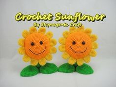 Crochet Tutorial - Sunflower