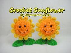 Crochet Tutorial - Sunflower