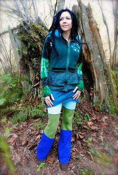 Pixie Jacket Custom for You Tribal SacReD by IntergalacticApparel
