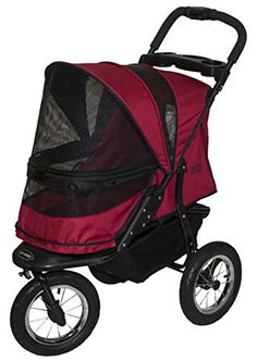 Special Offers - Pet Gear Jogger No-Zip Pet Stroller Rugged Red - In stock & Free Shipping. You can save more money! Check It (April 26 2016 at 06:20PM) >> http://dogcollarusa.net/pet-gear-jogger-no-zip-pet-stroller-rugged-red/
