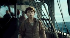 In the Heart of the Sea. Amazing movie. Tom Holland and Chris Hemsworth are fantastic!!