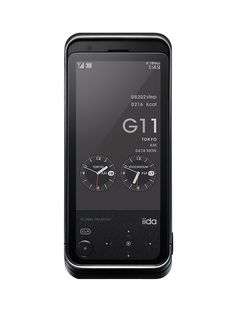 G11 | 携帯電話 | iida