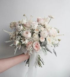 Hand Flowers, Bridal Flowers, Hand Bouquet, Bride Bouquets, Floral Wedding, Floral Arrangements, Beautiful Flowers, Marie, Dream Wedding