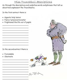 Roald Dahl SoW: A full scheme of work covering writing objectives using various Roald Dahl stories (including Matilda and The BFG). Matilda Roald Dahl, Roald Dahl Day, Roald Dahl Books, Roald Dahl Activities, Literacy Activities, 2nd Grade Reading, Guided Reading, Teaching Secondary, Education And Literacy