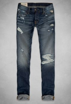 Abercrombie Skinny Jeans - Click to shop the collection and get your pari for back to school!