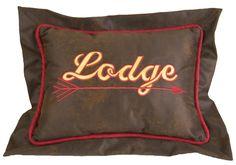 Tahoe Lodge Lumbar Pillow