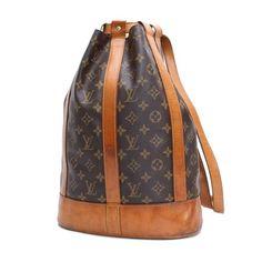 Louis Vuitton Randonnee PM Monogram Shoulder bags Brown Canvas M42243