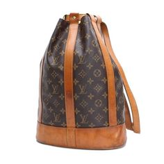 Louis Vuitton Randonnee PM Monogram Shoulder bags Brown Canvas M42243