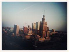 Warsawa from my hotel room.