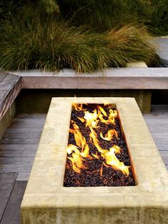 Modern fire pit for the future costa rica house